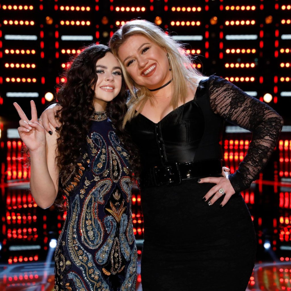 Kelly Clarkson The Voice Chevel Shepherd