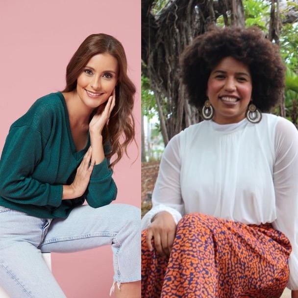 Ana María Monroy y la doctora Veroshka Williams en Cuéntame tu historia