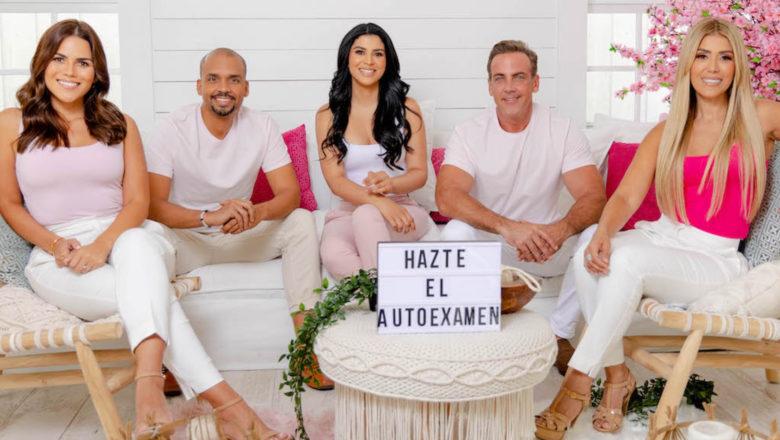 Carlos Ponce y Karina Banda juntos en campaña 'Tocarte las mamas es vida'